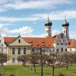 Das Kloster Benediktbeuern, in dem die Handschriften gefunden wurden.