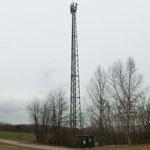 Handymast beim Schilift ca. 40m hoch