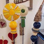 Gartenstecker aus Keramik (Symbolfoto)