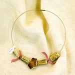 Halsband aus Hirschhorn