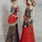 Damen aus Keramik (kein Versand)