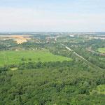 Güldendorf aus Osten, Luftbild