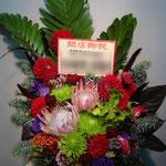 南国のイメージのフラワーアレンジメント 東京都23区送料無料