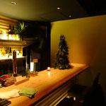 クリスマス装花 店内