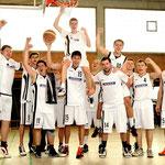 Sportfotografie, Basketballer des ATV Haltern Meisterschaft in der Landesliga