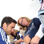 Sportfotografie, Spanische Fussball-Weltstar Raul