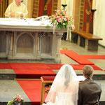 Hochzeitfotografie, Kirche