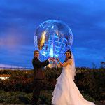 Hochzeitfotografie, Portrait Abendstimmung