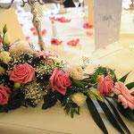Hochzeitfotografie, Brauttisch