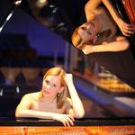 Künstlerfotografie, Anna Treutler,Klavier