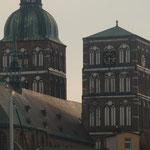 Imposante Backsteinbauten erwarten uns in der Hanse- und Hafenstadt Stralsund