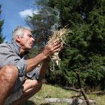 Romania - Experience Wilderness Eastern Carpathians - Making fire