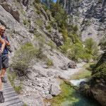 """... erkunden wir den """"Grand Canyon Österreichs"""", die Ötschergräben (Bild: Simon Wagenhofer)"""