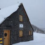Unsere Unterkunft, die Liezener Hütte