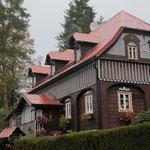 Beim Nationalpark Böhmische Schweiz erwartet uns eine spannende Architektur...
