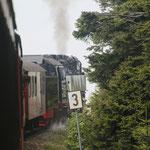 Per Dampfeisenbahn geht's auf den sagenumwobenen Brocken im NP Harz