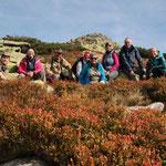 Am Riesengebirgs-Hauptkamm, mitten im Nationalpark