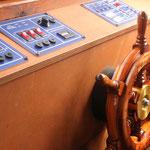 Unser Hausboot in der Mecklenburgischen Seenplatte