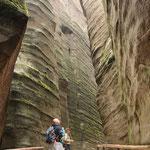 unglaubliche Sandstein-Formationen erwarten uns