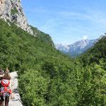 Es folgt der beeindruckende Paklenica Nationalpark