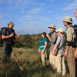 Sicherheits-Briefing für den Wilderness Trail - Ab jetzt zu Fuß!