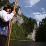 Slowakia - Naturtour - Floßfahrt auf dem Dunajec