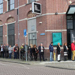 Eerste audities voor buurtbewoners  / first auditions for local residents