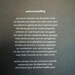 Dichter Koos Geerds schreef een gedicht bij het kunstwerk