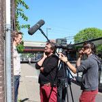 Werken met buurtbewoners  / Working with local residents