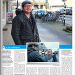 Interview in Stadsblad Utrecht  / interview in city newspaper