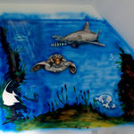 Wimpelfische Werden gebrusht
