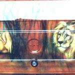 Löwenfamilie Heckklappe