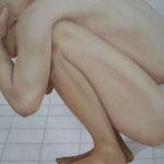 """""""Hemikranie"""" 2007 80 x 100cm"""