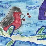 Даниил Т., 3в кл. А. Яшин. Покормите птиц зимой