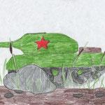 Алексей Г., 3в кл. А. Яшин. Баллада о танке