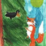Ксения Г., 4б кл. Ворона и Лисица