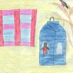 Виктория К., 3в кл. А. Яшин. Покормите птиц зимой