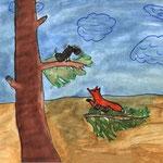 Мария И., 4а кл. Ворона и Лисица
