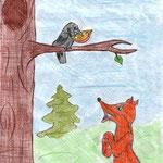 Анастасия К., 3а кл. Ворона и Лисица