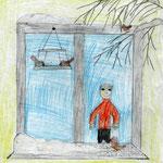 Александр К., 3а кл. А. Яшин. Покормите птиц зимой