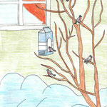 Кристина К., 3б кл. А. Яшин. Покормите птиц зимой