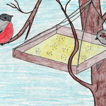 Анна Г., 3а кл. А. Яшин. Покормите птиц зимой