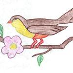 Николай Рубцов. Рисовала Алёна В., 7д класс