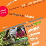 A cinéma de Bourail, le 3 décembre 2013