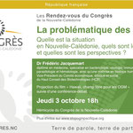 Conférence au Congrès