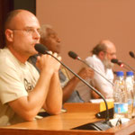 Conférence au Congrès en présence de M. Roch Wamytan
