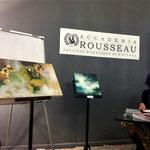 Terni, Conferenza sui colori, Accademia Rousseau, 2017