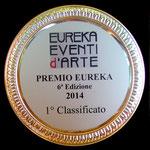 TARGA PRIMO PREMIO EUREKA 2014