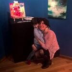 Il mio piccoli Francy espone la sua prima tela , 2018