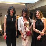 Con Mita Medici e l'artista Silvana Martini 2019